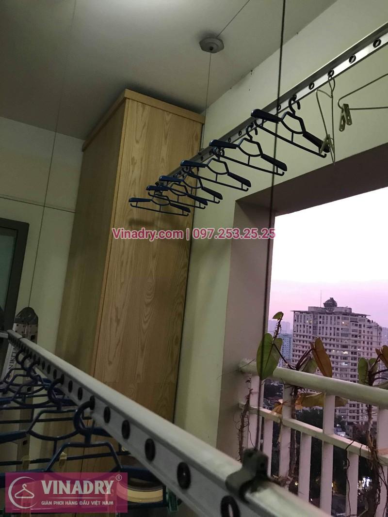 Vinadry sửa chữa giàn phơi tại Hoàng Mai - Thay cáp giàn phơi tại chung cư skyline ngõ Hòa Bình 6, Hoàng Mai cho nhà chú Tâm - 02
