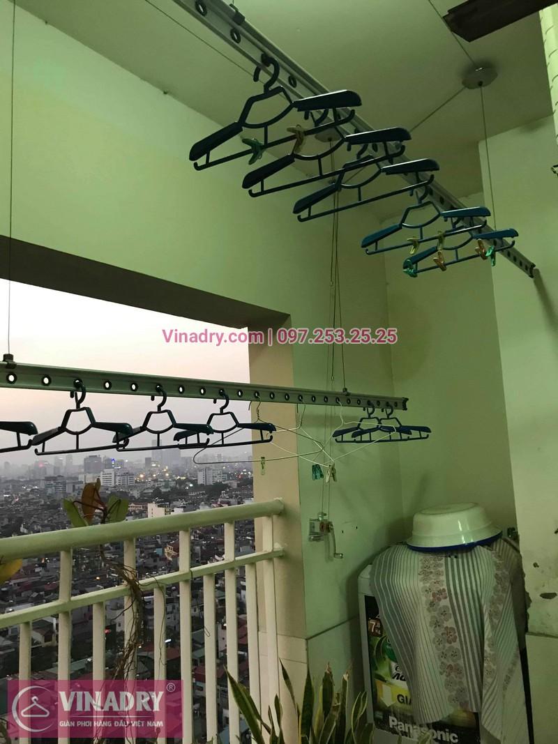 Vinadry sửa chữa giàn phơi tại Hoàng Mai - Thay cáp giàn phơi tại chung cư skyline ngõ Hòa Bình 6, Hoàng Mai cho nhà chú Tâm - 04