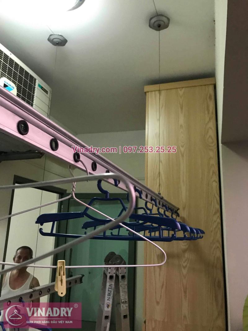 Vinadry sửa chữa giàn phơi tại Hoàng Mai - Thay cáp giàn phơi tại chung cư skyline ngõ Hòa Bình 6, Hoàng Mai cho nhà chú Tâm - 05