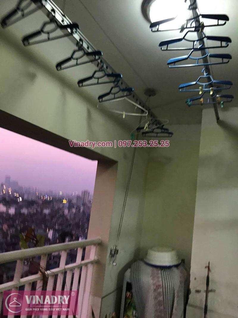 Vinadry sửa chữa giàn phơi tại Hoàng Mai - Thay cáp giàn phơi tại chung cư skyline ngõ Hòa Bình 6, Hoàng Mai cho nhà chú Tâm - 06