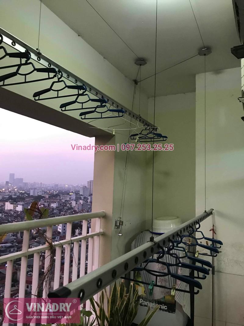 Vinadry sửa chữa giàn phơi tại Hoàng Mai - Thay cáp giàn phơi tại chung cư skyline ngõ Hòa Bình 6, Hoàng Mai cho nhà chú Tâm - 08