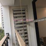 Vinadry thay dây cáp giàn phơi giá rẻ tại TimeCity cho nhà cô Hạnh, căn hộ 0312A