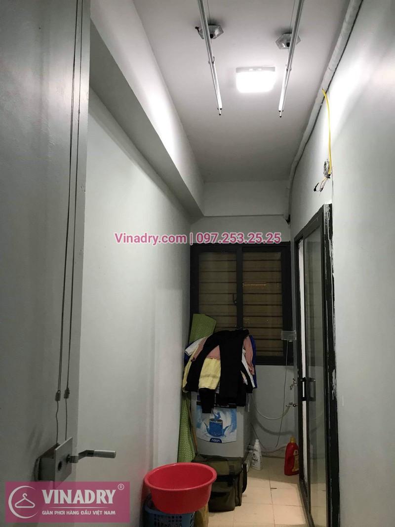 Vinadry thay thanh phơi cho giàn phơi thông minh tại chung cư Đồng Phát Hoàng Mai nhà chị Thắm - 01