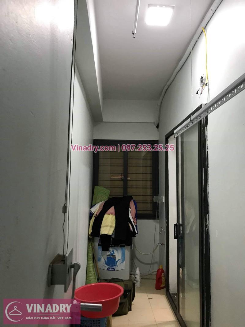Vinadry thay thanh phơi cho giàn phơi thông minh tại chung cư Đồng Phát Hoàng Mai nhà chị Thắm - 06