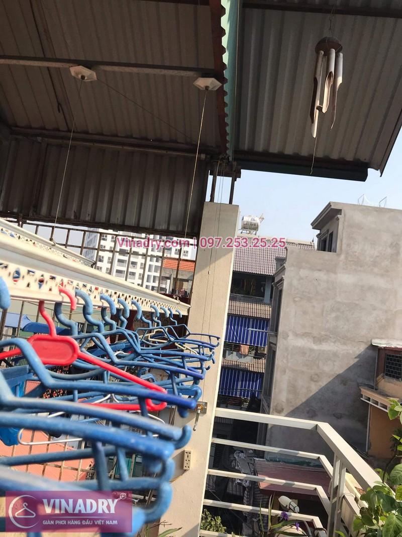 Vinadry sửa chữa giàn phơi tại Long Biên - Thay bộ tời HP999B cho giàn phơi thông minh tại Long Biên cho nhà cô Qúy