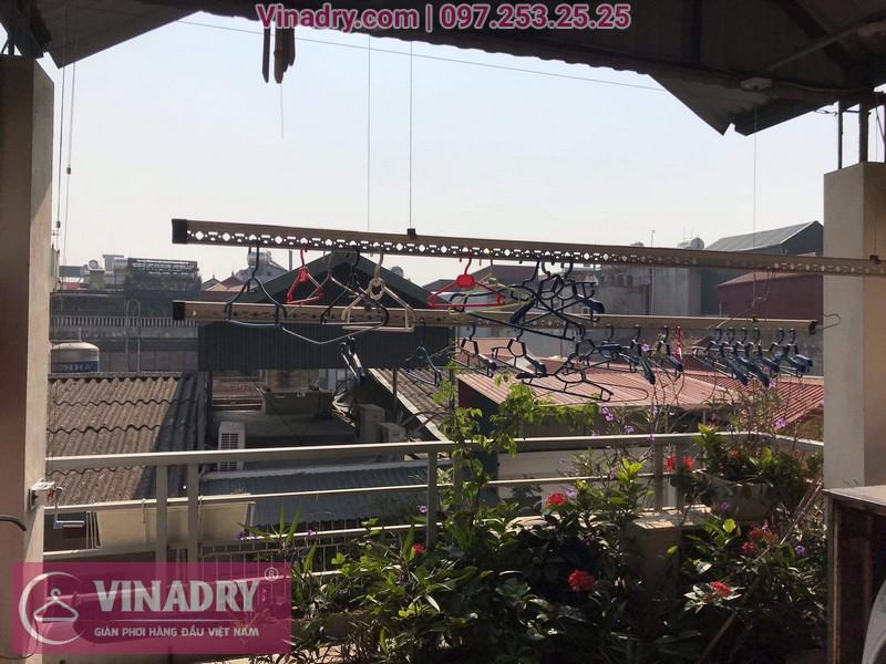 Vinadry sửa chữa giàn phơi tại Long Biên - Thay bộ tời HP999B cho giàn phơi thông minh tại Long Biên cho nhà cô Qúy - 08