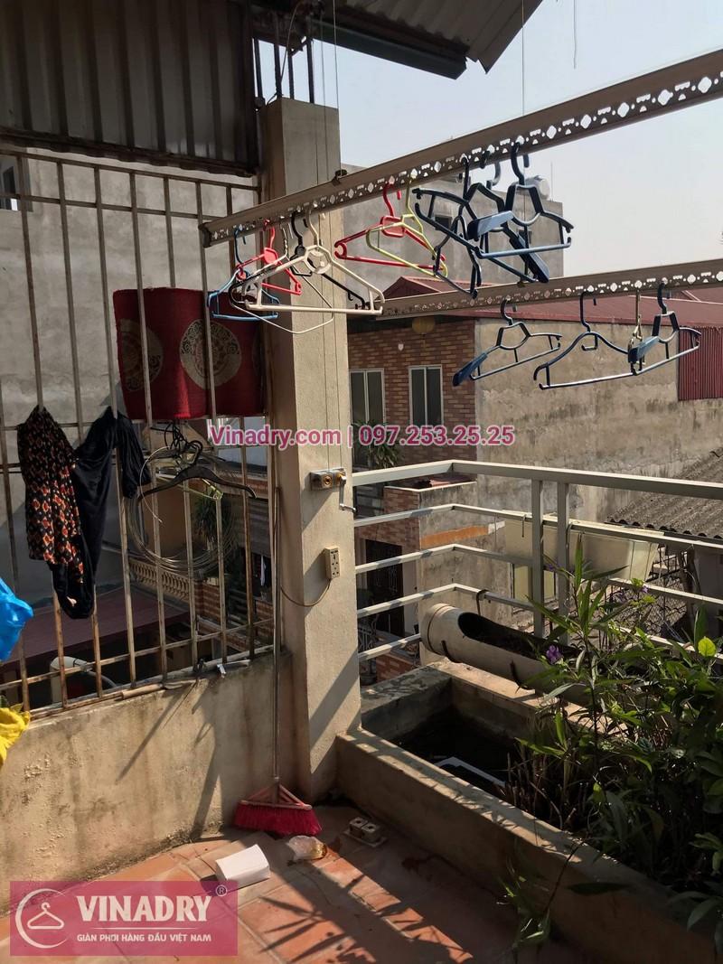 Vinadry sửa chữa giàn phơi tại Long Biên - Thay bộ tời HP999B cho giàn phơi thông minh tại Long Biên cho nhà cô Qúy - 05