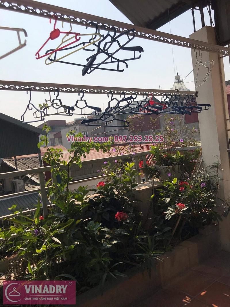 Vinadry sửa chữa giàn phơi tại Long Biên - Thay bộ tời HP999B cho giàn phơi thông minh tại Long Biên cho nhà cô Qúy - 02