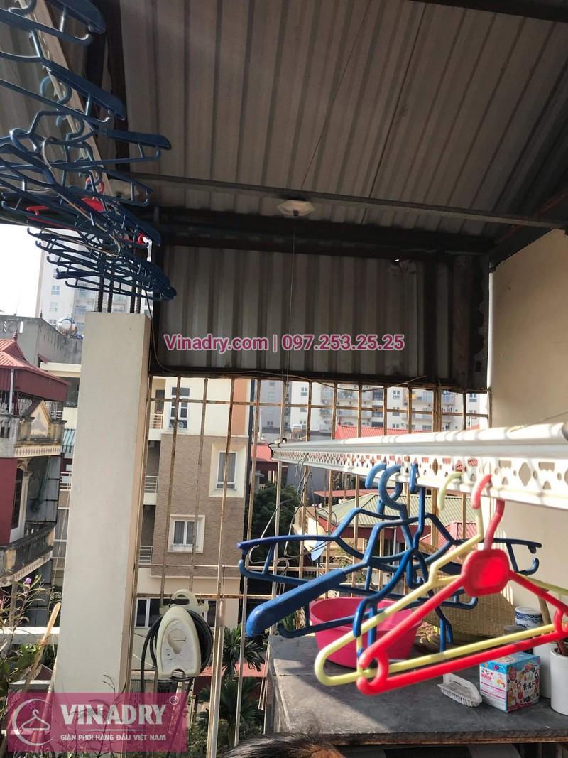 Vinadry sửa chữa giàn phơi tại Long Biên - Thay bộ tời HP999B cho giàn phơi thông minh tại Long Biên cho nhà cô Qúy - 01