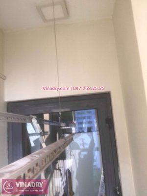 Vinadry sửa chữa giàn phơi tại Hoàng Mai - Thay dây cáp giàn phơi giá rẻ tại chung cư Tam Trinh, Hoàng Mai cho nhà anh Bằng - Vinadry là đơn vị sửa giàn phơi uy tín nhất