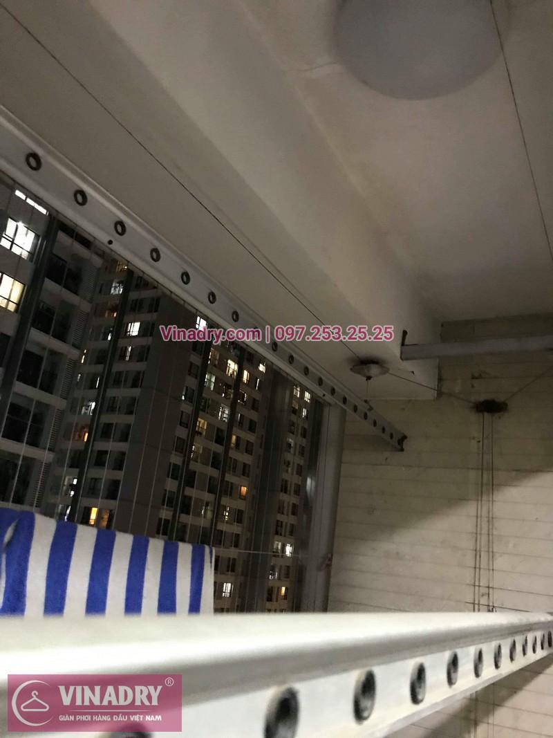 Vinadry sửa chữa giàn phơi tại TimesCity - Thay dây cáp giàn phơi giá rẻ tại TimesCity, Hai Bà Trưng cho nhà anh Hậu - 02