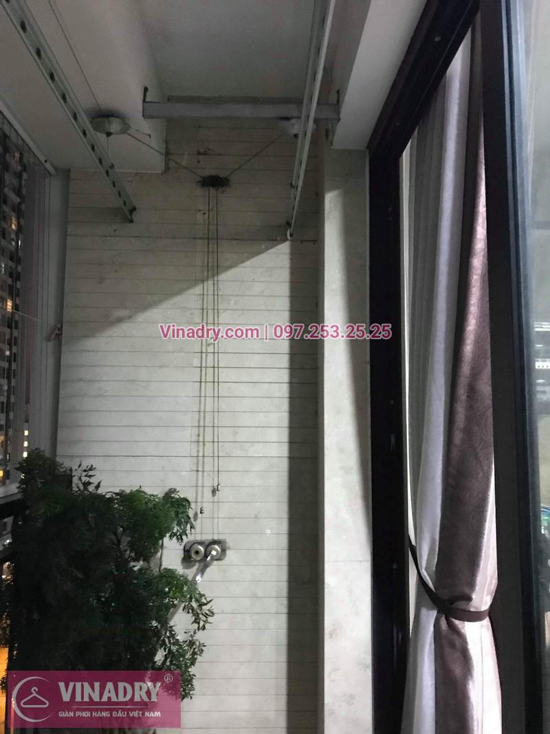Vinadry sửa chữa giàn phơi tại TimesCity - Thay dây cáp giàn phơi giá rẻ tại TimesCity, Hai Bà Trưng cho nhà anh Hậu - 03