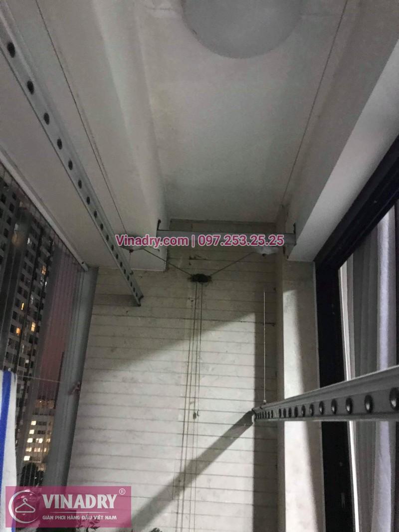 Vinadry sửa chữa giàn phơi tại TimesCity - Thay dây cáp giàn phơi giá rẻ tại TimesCity, Hai Bà Trưng cho nhà anh Hậu - 08