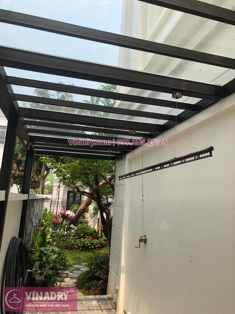 Lắp giàn phơi thông minh tại nhà chú Khoa, Long Biên, Hà Nội - 03