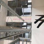 Sửa giàn phơi bị hỏng cáp nhà anh Long chung cư ngõ 158 Nguyễn Sơn