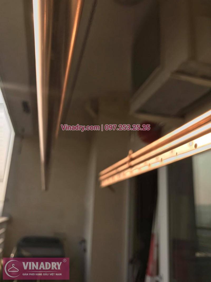 Thay linh kiện giàn phơi thông minh Hà Nội: nhà chị Mai tại căn 1411 ct1b chung cư Nam Đô, 609 Trương Định - 01