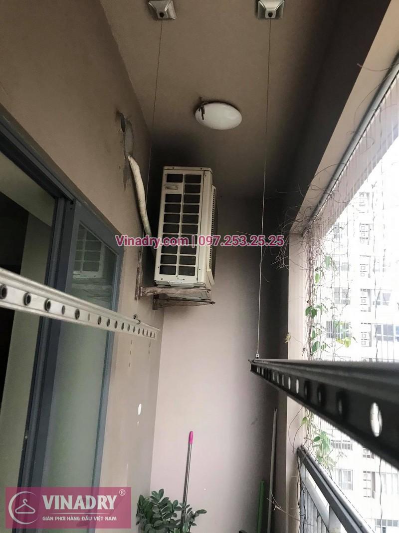 Sửa giàn phơi thông minh giá rẻ tại Hà Nội: nhà anh Đại,Tòa nhà Meco, ngõ 102 Trường Chinh - 02