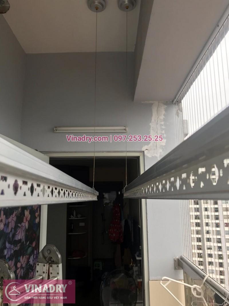 Sửa giàn phơi thông minh tại Minh Khai: Nhà chị Mai - 01