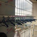 Sửa giàn phơi thông minh ở Hoàng Mai: nhà chị Lan, chung cư 151A Nguyễn Đức Cảnh, Hoàng Mai, Hà Nội