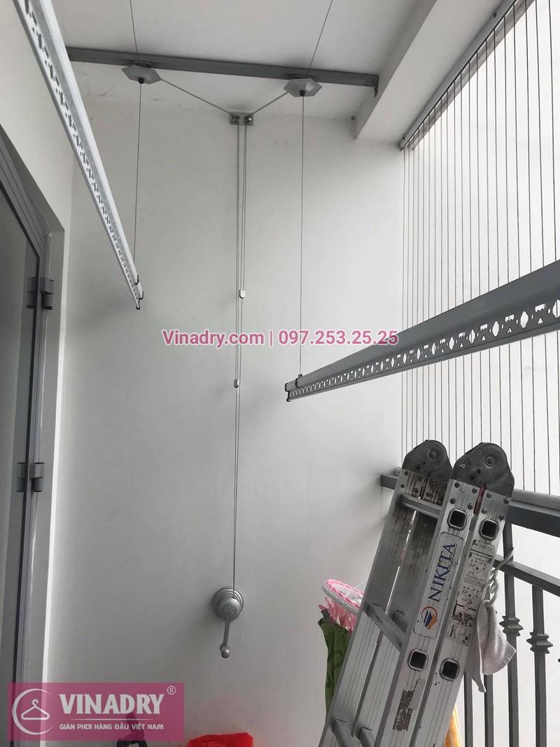Sửa giàn phơi tại nhà giá rẻ Hà Nội: nhà chị Lan, căn 2316, tòa Park 1, Time City