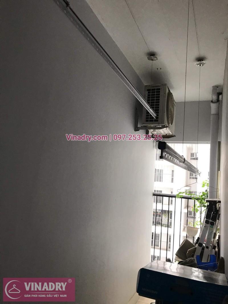 Giàn phơi thông minh giá rẻ - Vinadry lắp giàn phơi HP999B tại Thanh Xuân, chung cư Golden West cho nhà chú Lai - ảnh 11