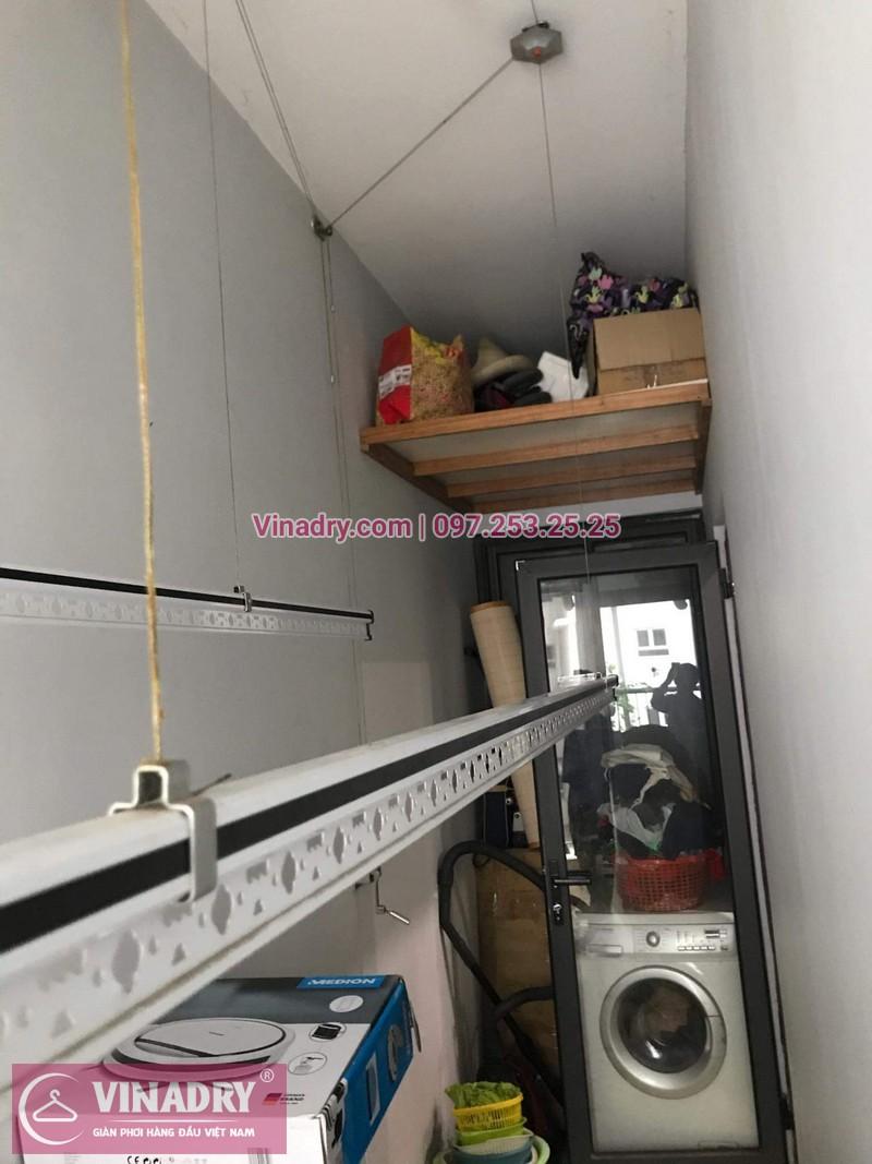 Giàn phơi thông minh giá rẻ - Vinadry lắp giàn phơi HP999B tại Thanh Xuân, chung cư Golden West cho nhà chú Lai - ảnh 10