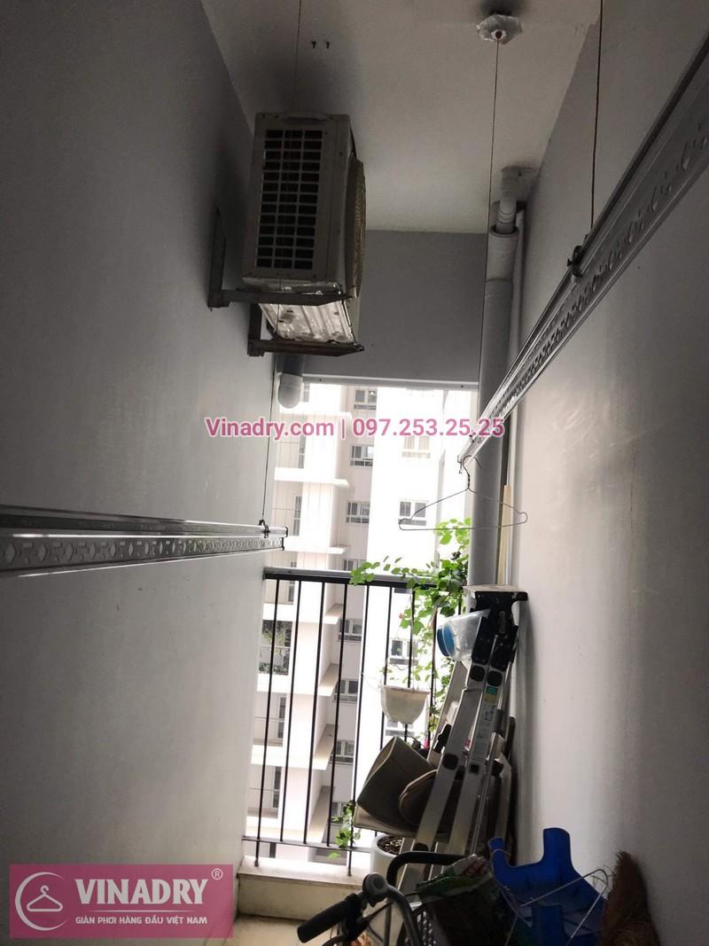 Giàn phơi thông minh giá rẻ - Vinadry lắp giàn phơi HP999B tại Thanh Xuân, chung cư Golden West cho nhà chú Lai - ảnh 08