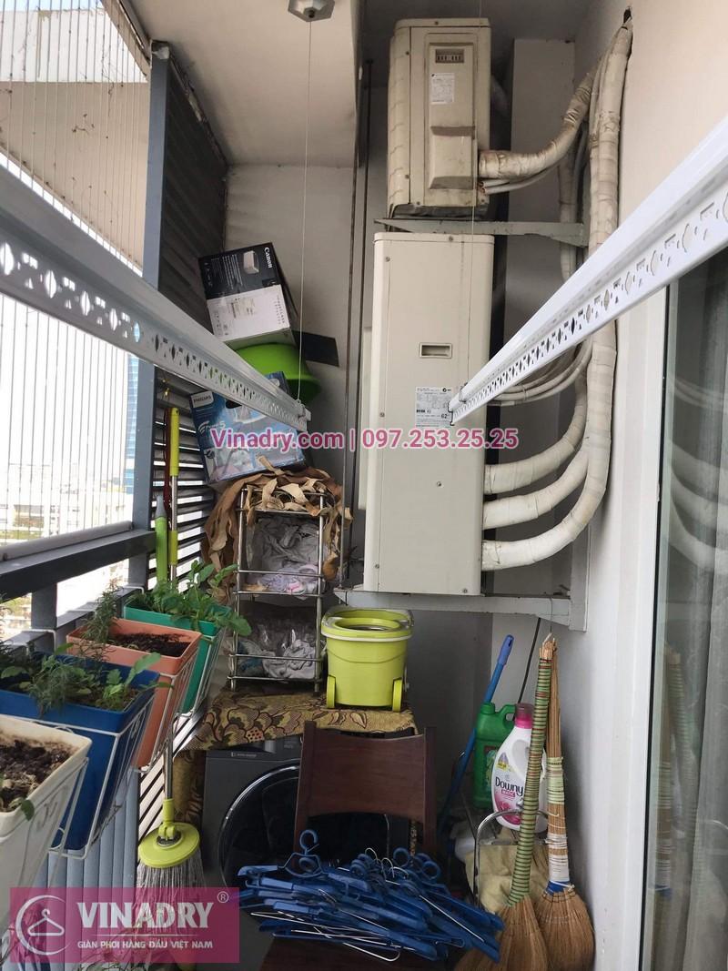 Vinadry sửa chữa giàn phơi tại Thanh Xuân - Sửa giàn phơi nhanh - thay dây cáp giàn phơi giá rẻ tại Thanh Xuân, chung cư Lê Văn Lương - ảnh 05