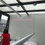 Lắp giàn phơi thông minh tại nhà chị Hoa – Nguyệt Quế 7-43, Vinhomes The Harmony, Long Biên, Hà Nội