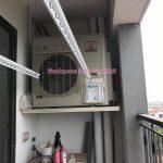 Lắp giàn phơi thông minh tại nhà chị Hoa, tòa N08, Giang Biên, Long Biên, Hà Nội