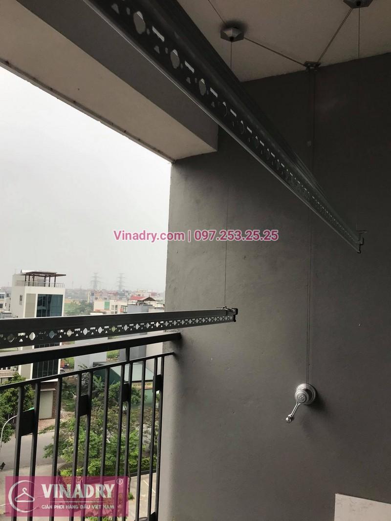 Lắp giàn phơi thông minh tại nhà chị Hoa, tòa N08, Giang Biên, Long Biên, Hà Nội - 1