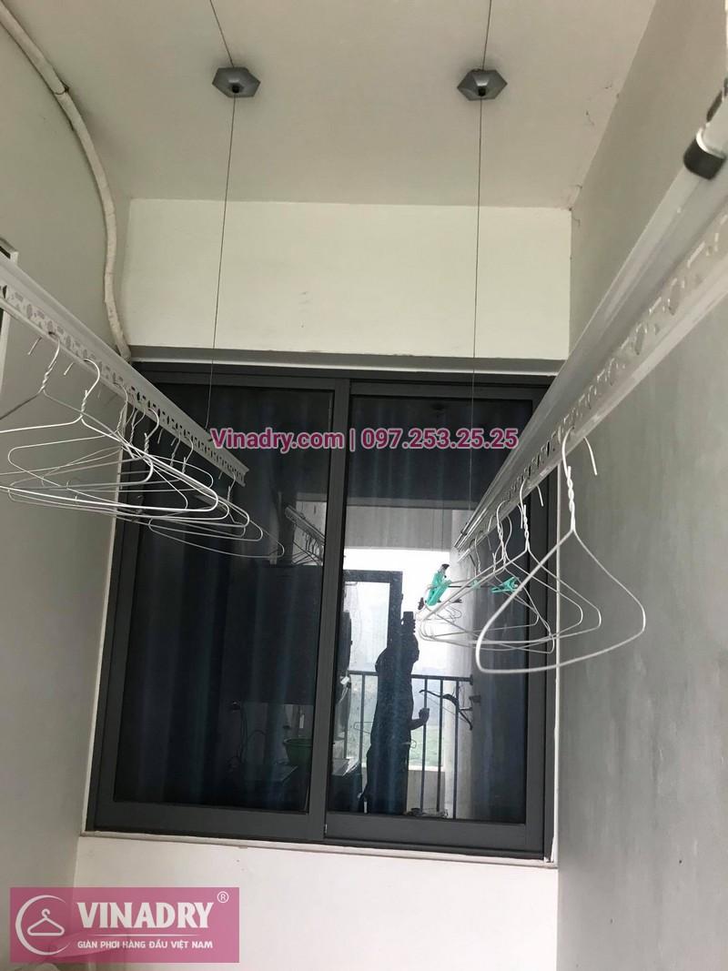 Sửa giàn phơi thông minh chung cư nhà chị Lan ở N02-T3, Ngoại Giao Đoàn, Bắc Từ Liêm - 2