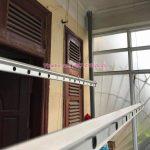 Thay dây cáp giàn phơi thông minh tại nhà chị Hoa số 35, Ngõ 27, Đại Cồ Việt, Hà Nội