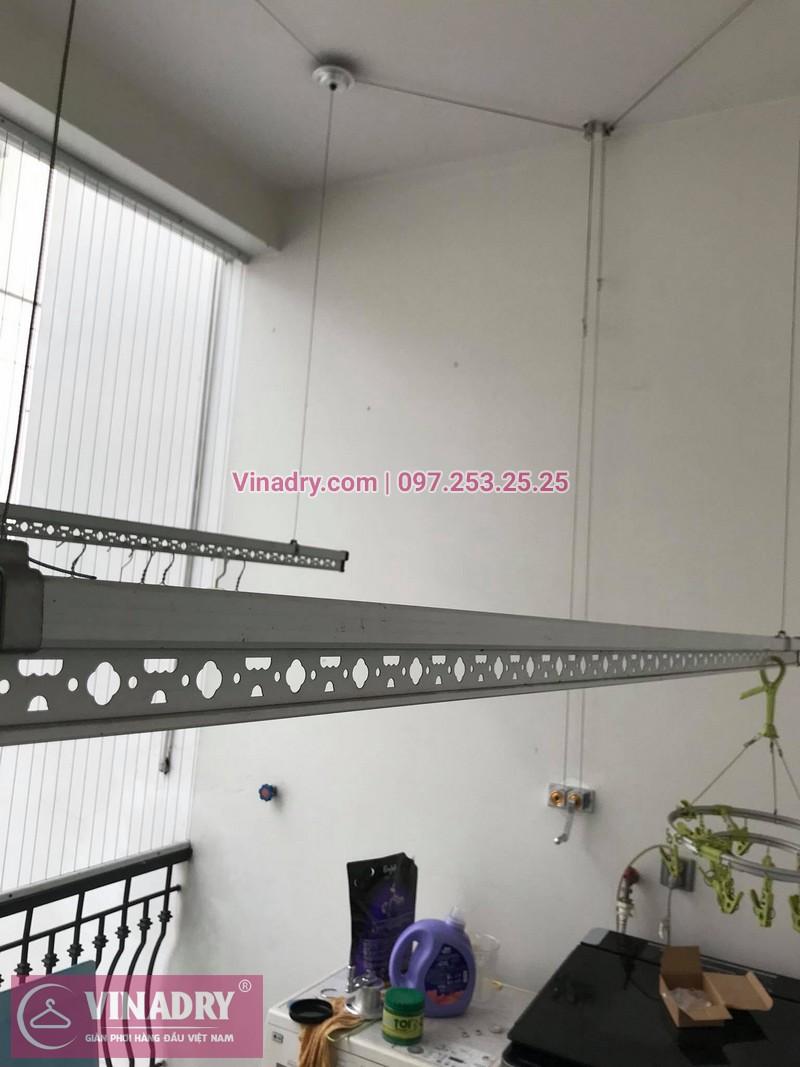Sửa giàn phơi thông minh tại Long Biên nhà cô Nụ, Khu Biệt thự Nguyệt Quế, Vinhomes - 2