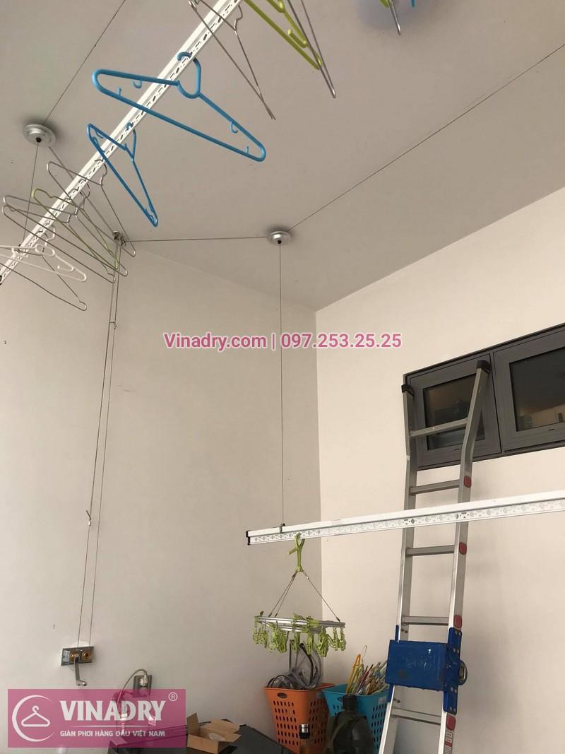 Sửa giàn phơi thông minh tại Long Biên nhà cô Nụ, Khu Biệt thự Nguyệt Quế, Vinhomes - 4