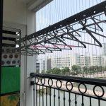 Sửa giàn phơi cho nhà bác Hoa tại căn 0506, T10, Timecity, Hà Nội