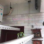 Sửa giàn phơi thông minh tại nhà chị Mai, chung cư Chợ Mơ, Bạch Mai, Hà Nội
