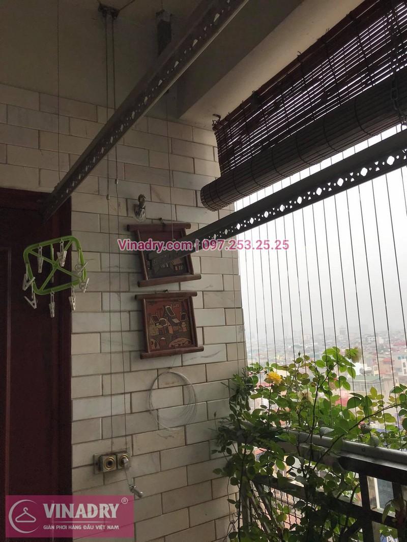 Sửa giàn phơi thông minh tại nhà chị Mai, chung cư Chợ Mơ, Bạch Mai, Hà Nội - 3