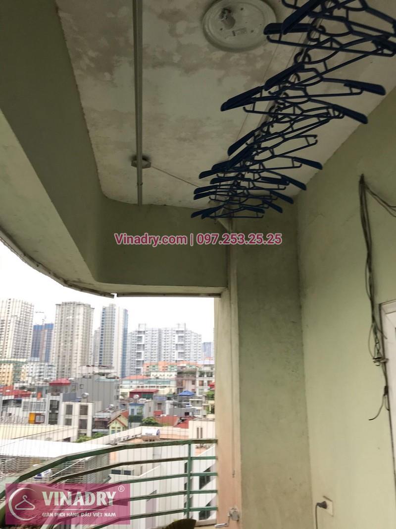 Sửa giàn phơi thông minh tại nhà anh Hòa, chung cư Vinaconex 7, Cầu Diễn, Hà Nội