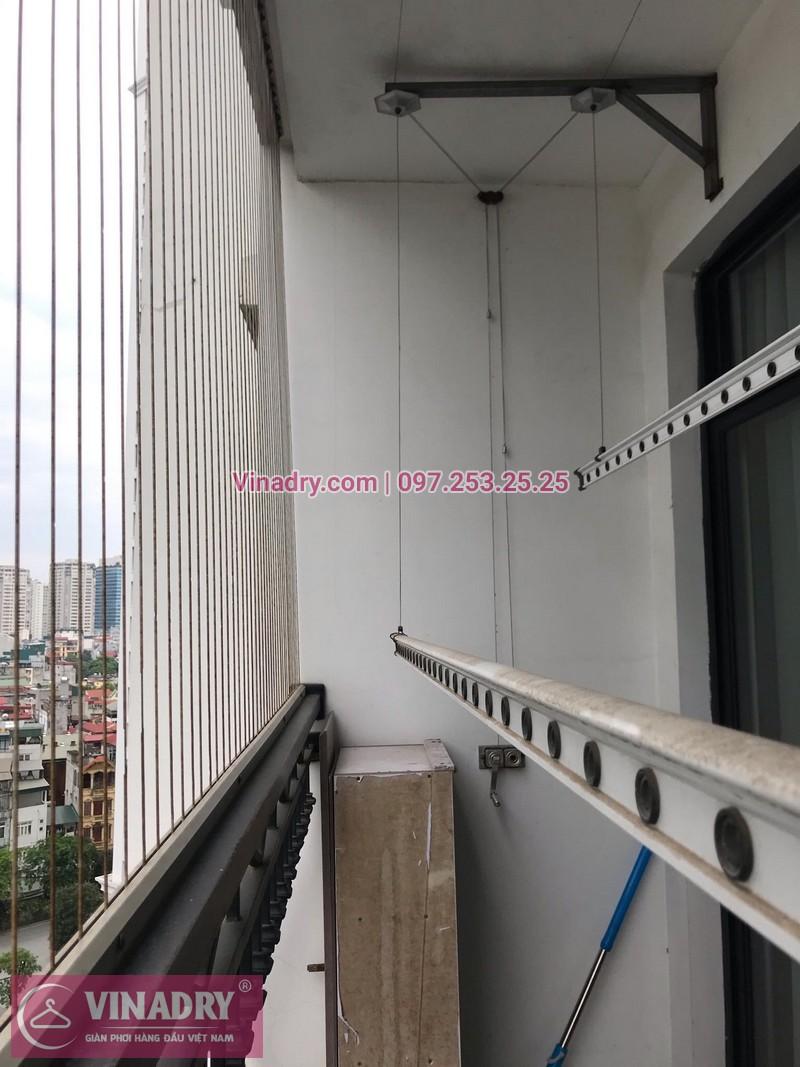 Sửa giàn phơi thông minh tại căn 0925 tòa R03, chung cư Royal City, Hà Nội