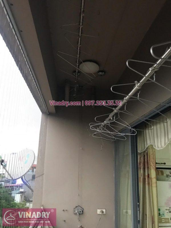 Sửa giàn phơi thông minh Hà Nôi tại nhà chịTuyết, chung cư HH1 Meco Complex, 102 Trường Chinh
