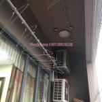 Sửa giàn phơi thông minh tại nhà chịTuyết, chung cư HH1 Meco Complex, 102 Trường Chinh
