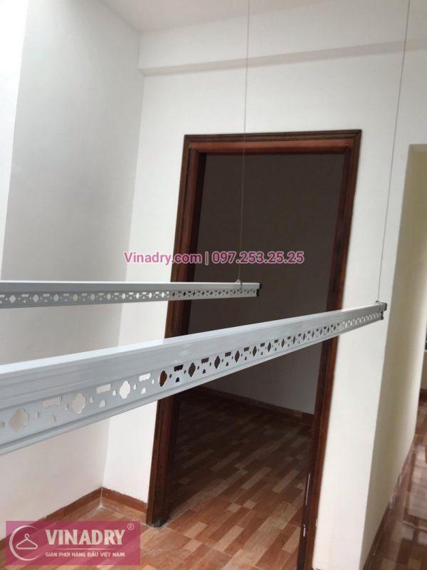Lắp đặt giàn phơi thông minh Hà Nội tại nhà chị Hoa, Lê Lợi, Hà Đông
