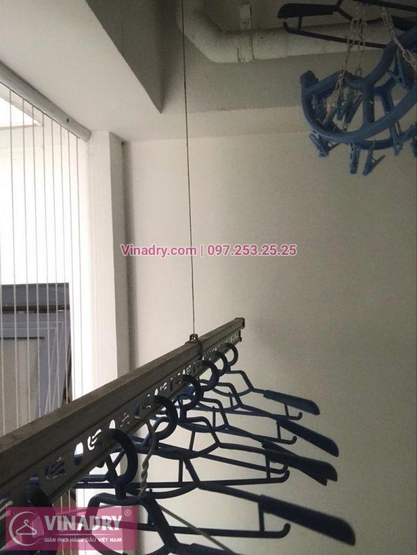 Thay dây cáp loại tiến tiến nhất hiện nay cho nhà bác An, ở chung cư Nguyễn Huy Tưởng