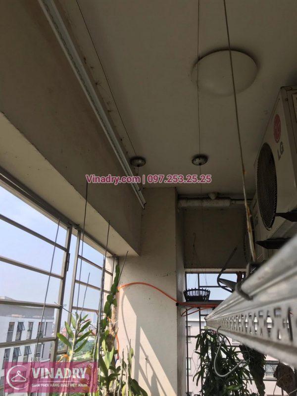 Sửa giàn phơi thông minh tại nhà chị Mai, Phòng 903, A3D2 khu đô thị Đặng Xá, Gia Lâm