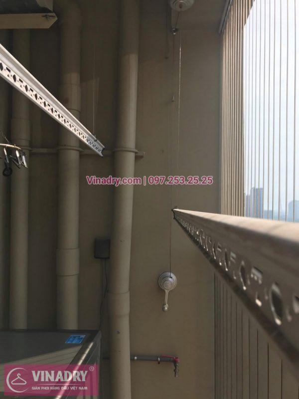 Sửa giàn phơi tại Hà Nội nhà chị Cúc, căn hộ 01-V1, chung cư Home city, Trung Kính, Cầu Giấy