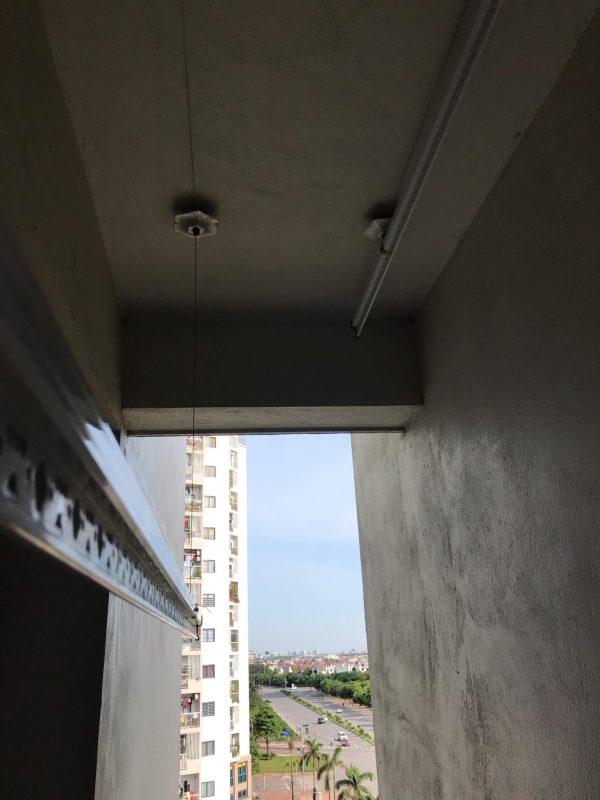 Sửa giàn phơi thông minh tại Giang Biên, Long Biên, nhà chị Nguyệt