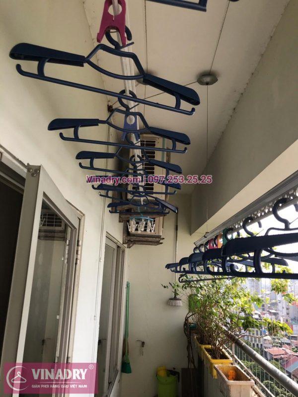 Thay toàn bộ dây cáp giàn phơi thông minh tại nhà chị Bình, khu tập thể Nguyễn Công Trứ