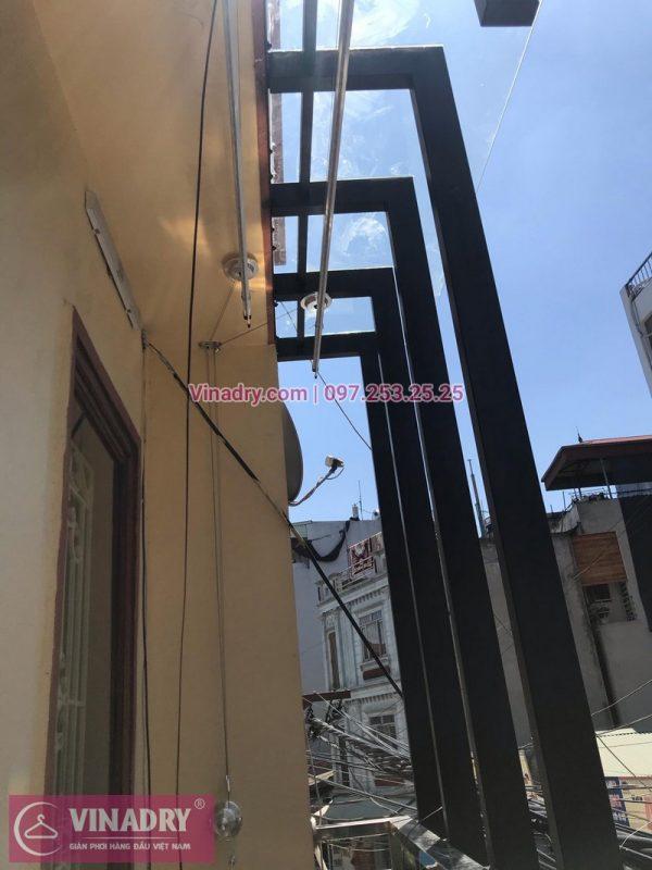 Lắp giàn phơi nhà chú Minh tại số 126 Tân Triều, Thanh Trì, Hà Nội