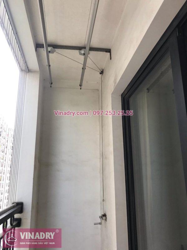 Sửa giàn phơi thông minh tại nhà chị Kim Anh, 2009, tòa T8, Chung cư Time City